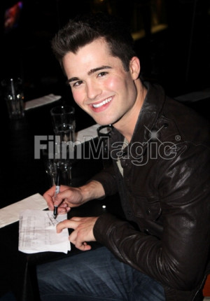 Spencer Boldman Visits Planet Hollywood