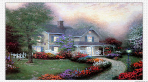 Thomas Kinkade Art Painting