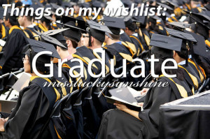 girl, girls, glasses, graduate, graduation, missluckysunshine, quote ...