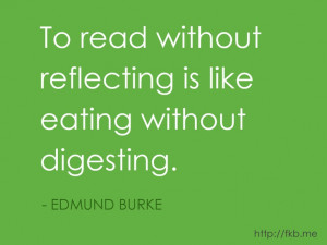 Here's another great quote about books and reading. (from http://fkb ...