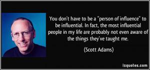 More Scott Adams Quotes