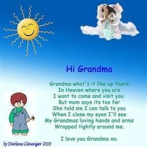 ... Happy Mothers, Visit, Grandma In Heavens Quotes, Happy Birthday