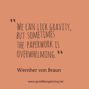 Quote: Overwhelming Paperwork