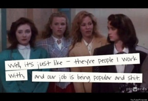 Heathers Quotes 14 'heathers' quotes we hope