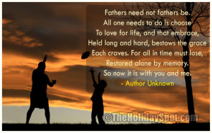 Father's Day Quotes Poems