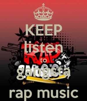 Gangster Rap Wallpaper Keep listen to gangsta rap