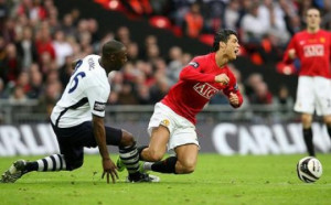 And Cristiano Ronaldo gets a perfect triple tuck!