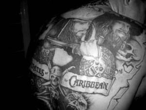 Pirates of the Caribbean - Movie Tattoo