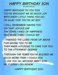 Happy 14th Birthday to my Son