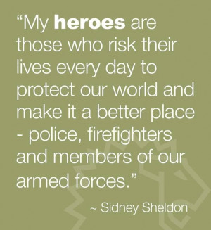 Heroes, thankful that they are people whom I call friends