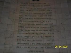 Jefferson Memorial: Quotes @ TJ Memorial