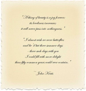 for quotes by John Keats. You can to use those 8 images of quotes ...