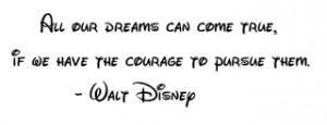 Walt Disney Quote Image