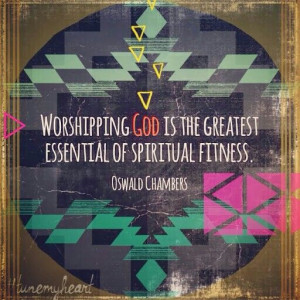 ... the design....but you can never go wrong with an Oswald Chambers quote
