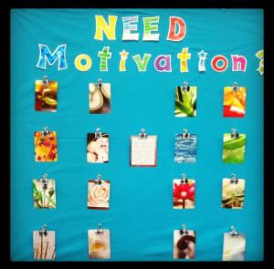 Interactive Motivation Bulletin Board!