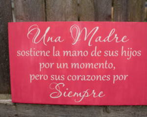 Mother Birthday Quotes In Spanish Mother quote in spanish,