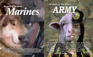 Marine Recruiting Poster...