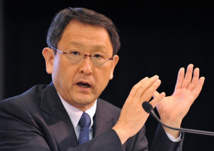 Akio Toyoda To Toyota Investors Steady As She Goes