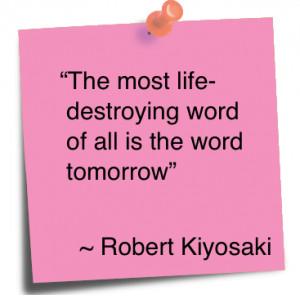 ROBERT T KIYOSAKI QUOTES