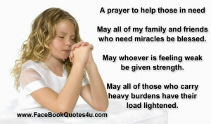 prayer to help those in need