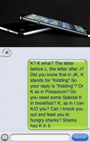 How Geeks Respond to One Letter