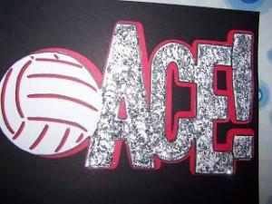 Volleyball Locker Sign