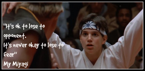 """... on """" A selection of wisdom from The Karate Kid's Mr Miyagi"""