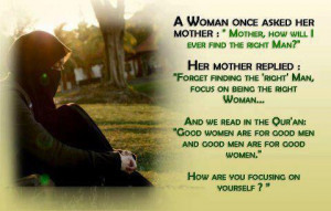 from : The Ideal Muslimah (FB)