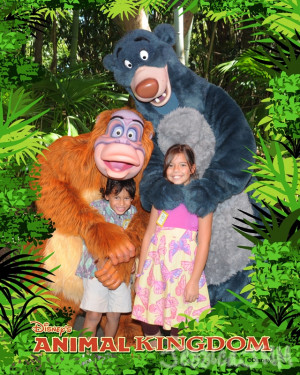 Even though King Louie couldn't sign autographs, he was great at ...
