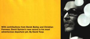 The Wire - David Sylvian