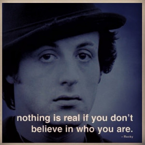 What is your favorite Rocky movie quote for motivation?