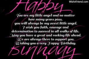 Birthday Wishes for My Daughter Quotes
