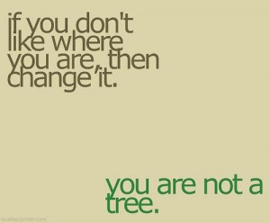 You can change everything too .. just have the will and determination ...
