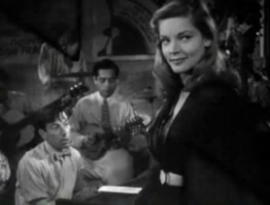 Lauren Bacall in To Have and Have Not (1944)