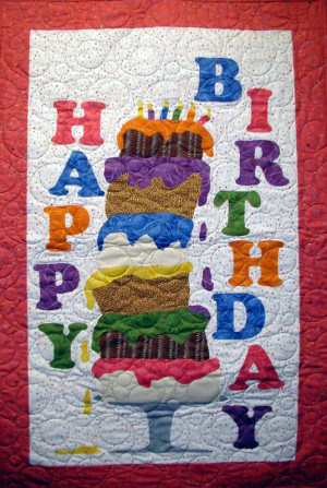 Quilter S Birthday Cake