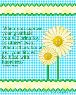 Joy, Family and Shasta Daisies (with a printable quote)
