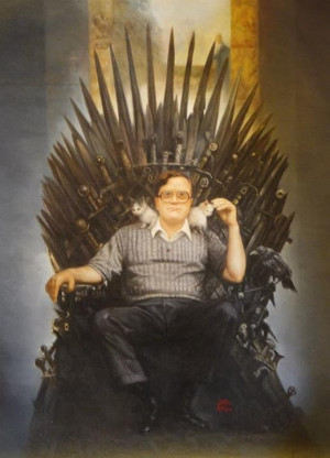 Bubbles from Trailer park Boys on The Iron Throne (Game of Thrones ...