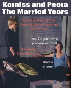 Katniss and Peeta - the married years