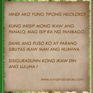 Banats Love Quotes Tagalog : Tagalog Sad Love Quotes For Him Banat Quotes Jokes Tagalog Quotes ...