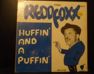 Redd Foxx Comedy Album (Huffin and A Puffin) Stereo RF10 Vintage ...