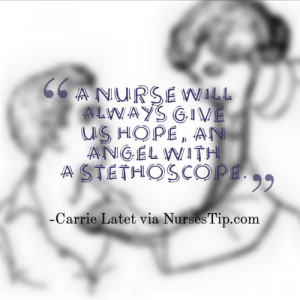 inspiring nursing quotes and sayings