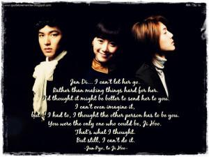 drama dialogue quote boys over flower korean best korean drama quotes ...