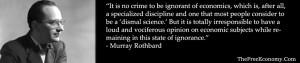 Murray Rothbard: The Banking Cartel