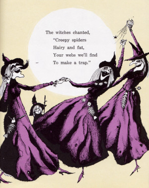 The witches are tickled pink (Do evil witches get tickled pink? Maybe ...