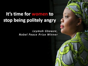 It's time for women to stop being politely angry.
