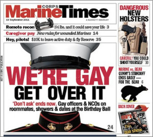 Military Men Speak Out About the End of DADT
