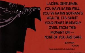 Batman Comics Quote-1