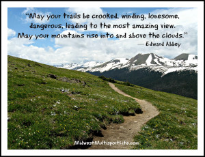Ultra Running Quotes Edward abbey trails quote