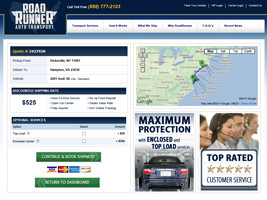 Quick & Easy Vehicle Shipping Quotes