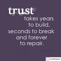 Trust #quote. I am sorry @Joanna Szewczyk Szewczyk Gierak Szewczyk ...
